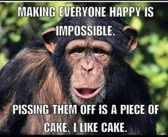 85 Happy Memes to Brighten Your Day and Make You Smile - Funny Monkeys - Funny Monkeys meme - - The post 85 Happy Memes to Brighten Your Day and Make You Smile appeared first on Gag Dad. Funny Animal Quotes, Funny Animal Pictures, Funny Images, Funny Animals, Animal Humor, Animal Pics, Funny Photos, Funny Signs, Funny Jokes