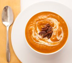 Chipotle Sweet Potato Soup.  Sweet Mother of God - this has my name written allll over it!