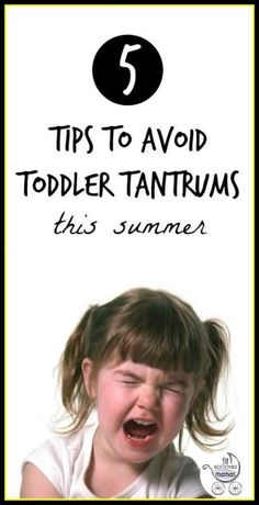 Oh no, the toddler tantrum -- how to avoid meltdowns even as Summer heats up! | Fit Bottomed Mamas