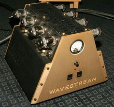 Wavestream tube amplifier