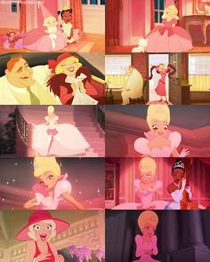Charlotte from Princess and the Frog. I am totally her.