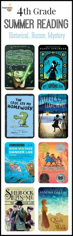 4th Grade Reading List (age 9 - 10) - Historical, Humor, Mystery