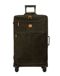 online shopping for BRIC'S LIFE Collection Wheeled Suitcase from top store. See new offer for BRIC'S LIFE Collection Wheeled Suitcase Brics, Spinner Suitcase, Pvc Coat, Wide Body, Sporty Look, Vegetable Tanned Leather, Traveling By Yourself, Collection, Hand Bags