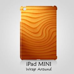Wood Flow Texture iPad Mini 2 Case Cover Wrap Around
