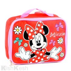 Minnie Mouse and Friends Insulated Lunch Bag.  LunchBags  BackToSchool  Kids  Minnie Mouse 26f390d3e060c
