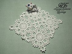 World crochet: Motive 198 Granny Square Crochet Pattern, Crochet Flower Patterns, Crochet Stitches Patterns, Doily Patterns, Crochet Squares, Crochet Motif, Crochet Flowers, Crochet Leaves, Crochet Wool