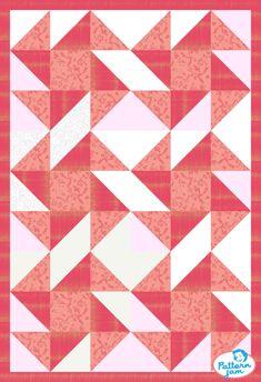 Perpetual Motion - custom quilt designed by poobaker50 using PatternJam quilt design software