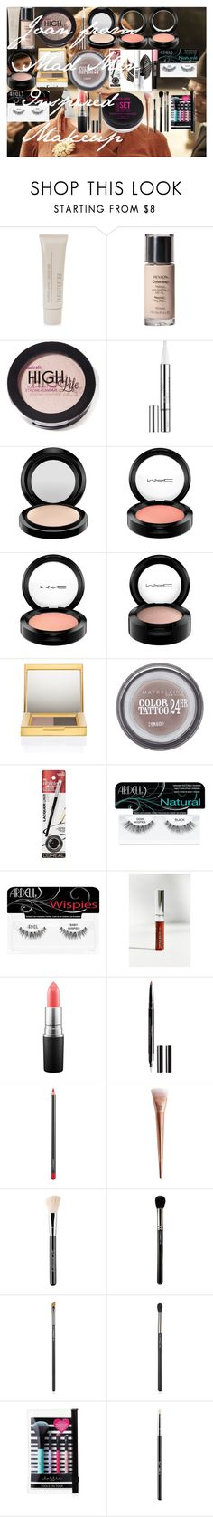 """""""Joan from Mad Men Inspired Makeup"""" by oroartye-1 on Polyvore featuring beauty, Laura Mercier, Revlon, L'Oréal Paris, MAC Cosmetics, Maybelline, Ardell, Anastasia Beverly Hills, Inglot and Sigma"""