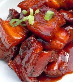 Pressure Cooker Red-Cooked Pork Shoulder #pork