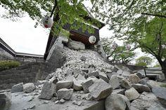 14日からの地震の死者35人に、避難者9万人以上 熊本 - AFP #Kumamoto #熊本地震