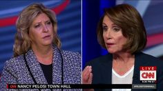 Democratic leader Nancy Pelosi (DUMB ASS) answers a woman's heartfelt concern regarding her son's murder by an illegal immigrant.