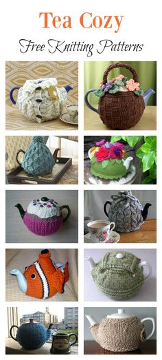 10 Tea Cozy Free Knitting Pattern Tea Cozy Free Knitting Pattern freeknittingpattern knittingpatterns Best Picture For free knitting patterns for kids For Your Taste You are looking for something and it Crochet Tea Cosy Free Pattern, Tea Cosy Pattern, Tea Cozy Crochet, Form Crochet, Crochet Geek, Chunky Knitting Patterns, Free Knitting, Knitted Tea Cosies, Christmas Knitting