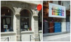 La marchande de couleurs - Lyon 4 Rue Gentil, Lyon, France www.tricots-de-la-droguerie.fr