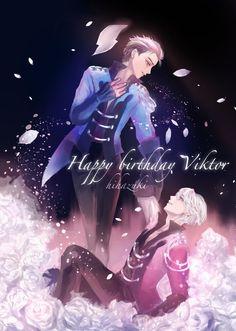 Yuri and Viktor on ice - YOI