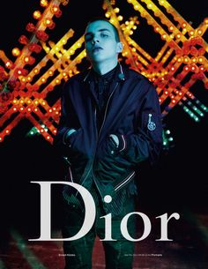 439d74eb40cb Model Ernest Klimko is front and center for Dior Homme s spring-summer 2017  campaign.