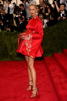 Karolina Kurkova - The Best Looks from the 2015 Met Gala  - HarpersBAZAAR.com