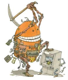 Mattias Adolfsson is a successful freelance illustrator from Sweden who has been commissioned by the New York Times Magazine, The Onion, Spotify, and First Animation, Master Of Fine Arts, 3d Artist, Freelance Illustrator, Creative Art, Game Art, Sweden, Cool Art, Character Design