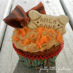 Pupcake recipe - dog birthday cupcake