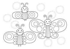 Pikku Kakkosen kesän värityskuvat | Pikku Kakkonen | Lapset | yle.fi Insect Coloring Pages, School Coloring Pages, Colouring Pages, Free Printable Coloring Pages, Free Printables, Early Childhood Education, Preschool, Snoopy, Children