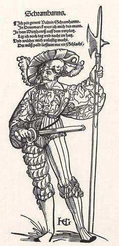 Der Landsknecht Valtein Schramhanns (um 1535)
