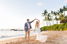@simplemauiwed posted to Instagram: A first dance on the beach after your elopement? Yes Please! We love it when couples find fun ways to incorporate traditional elements of a wedding to an elopement.   📷: @karmahill Maui Team  #mauiwedding  #hawaiielopementphotographer #mauielopement #mauielopementphotographer  #hawaiiwedding #mauiweddingplanner  #mauielopementplanner #elope #hawaiiweddingplanner  #weddinginspiration #mauiweddingphotographer #hawaiiweddingphotographer #love  #ido #hawaii Maui Weddings, Hawaii Wedding, Maui Wedding Photographer, Beach Wedding Inspiration, First Dance, View Image, Traditional, Couple Photos, Couples
