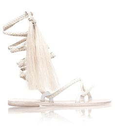 Brother Vellies // Ivory Talitha Sandal