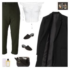 """Untitled #5039"" by amberelb ❤ liked on Polyvore featuring THE RERACS, Marni, Dolce&Gabbana, Prada, Hillier Bartley, Maryam Nassir Zadeh and Rifle Paper Co"