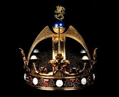 The Crown of the King of Finland and Karelia, Duke of Åland, Grand Prince of Lapland, Lord of Kaleva and the North. Nice title.