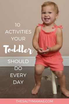 Creating a Toddler Schedule- Top 10 Daily Toddler Activities to Include Toddler Learning Activities, Parenting Toddlers, Sensory Activities, Infant Activities, Parenting Hacks, Daily Activities, Parenting Quotes, Toddler Fun, Toddler Preschool