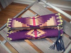 my friend/designer makes these beautiful pendleton bags. I own the portfolio & love it! #seaecho #pendleton