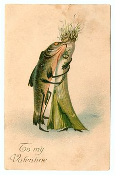 Vintage Valentine: Love Stinks by pageofbats, via Flickr
