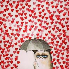 grumpy cat / love