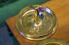 1944 US Navy Trench Art Ashtray with Propeller