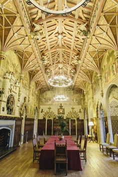 """""""This is the interior of the beautiful Cardiff Castle in Wales. Now, who would like to live in a place like this? Cardiff Bay, Cardiff Wales, Visit Cardiff, Castles In Wales, Visit Wales, Unusual Buildings, Dublin City, Medieval Castle, South Wales"""