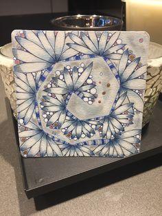12 Days of Zentangle - Day 9 ❤️🌺 Zentangle Drawings, Zentangles, 12 Days, Tangled, Workshop, Art, Atelier, Art Background, Rapunzel