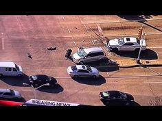 DON'T MESS WITH TEXAS/! Unexpected End to Texas Car Chase Stuns Newscasters: 'Something I Don't Think I've Ever Seen Before' 1/10/15