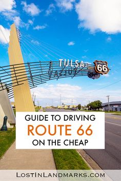 Guide to driving Route 66 on the cheap - USA Road Trip Route 66 is an iconic road trip on many bucket lists but can you do it on a budget? Here's some tips for travelling the historic mother road on the cheap. US route 66 Driving Route 66, Route 66 Road Trip, Us Road Trip, Road Trip Hacks, San Francisco, San Diego, Bucket Lists, Canada Travel, Travel Usa