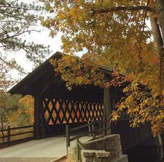 Stone Mountain Covered Bridge. Photo by @cgmccall via Instagram.