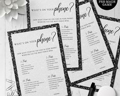 Printable Invitations Favor Tags Signs Games & More by MetroEvents