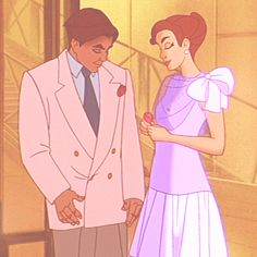 Again, I know it isn't Disney, but Anastasia and Demetri are just so stinking cute.