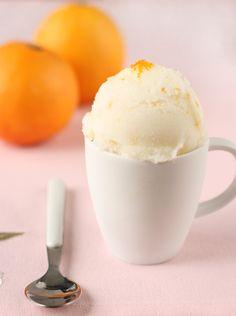 orange blossom buttermilk sorbet yummmy