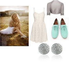 """Lace makes everything better."" by ryls-happy on Polyvore"
