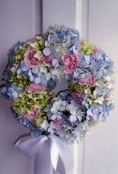 pastels.quenalbertini: Shabby  Wreath