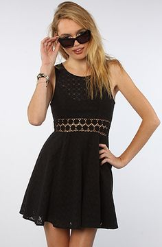 The Daisy Waist Dress in Black by Free People #MissKL #WinYourPin