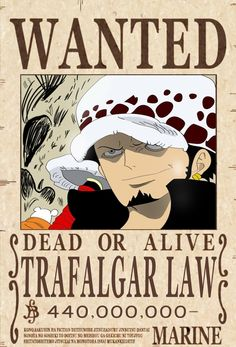 One Piece Wanted Poster – Wallpapers Sites One Piece All Characters, One Piece Movies, One Piece Funny, One Piece Comic, One Piece Manga, One Piece New World, Latest One Piece, One Piece Crew, Trafalgar Law