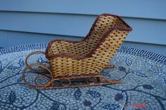 Vintage Hand Made Wicker/Rattan/Straw by DaisVintageTreasures