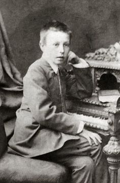 Rachmaninoff at age 10 - In 1883, Ornatskaya arranged for Rachmaninoff, now ten, to study music at the Saint Petersburg Conservatory.