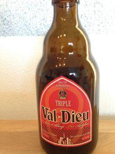 Val-Dieu - Triple - abdijbier 33cl, 9%. Brasserie de l'abbaye du Val-Dieu www.val-dieu.com
