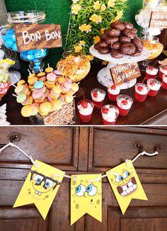 11 top spongebob squarepants parties images spongebob birthday rh pinterest com
