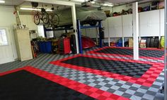 "SwissTrax-garage-floor-tile-2 - <em>RibTrax <a href=""http://allgaragefloors.com/racedeck-vs-swisstrax/"" rel=""nofollow"">interlocking garage floor tile</a> by SwissTrax</em>"